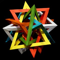 6 tetrahedra, Daniel Kwan, 2-fold view