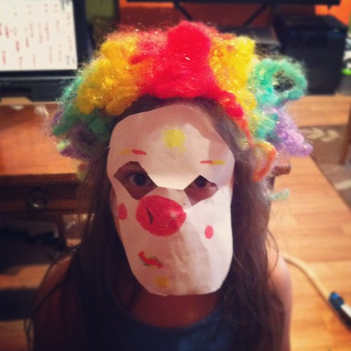 clowns are scary...no way around it!