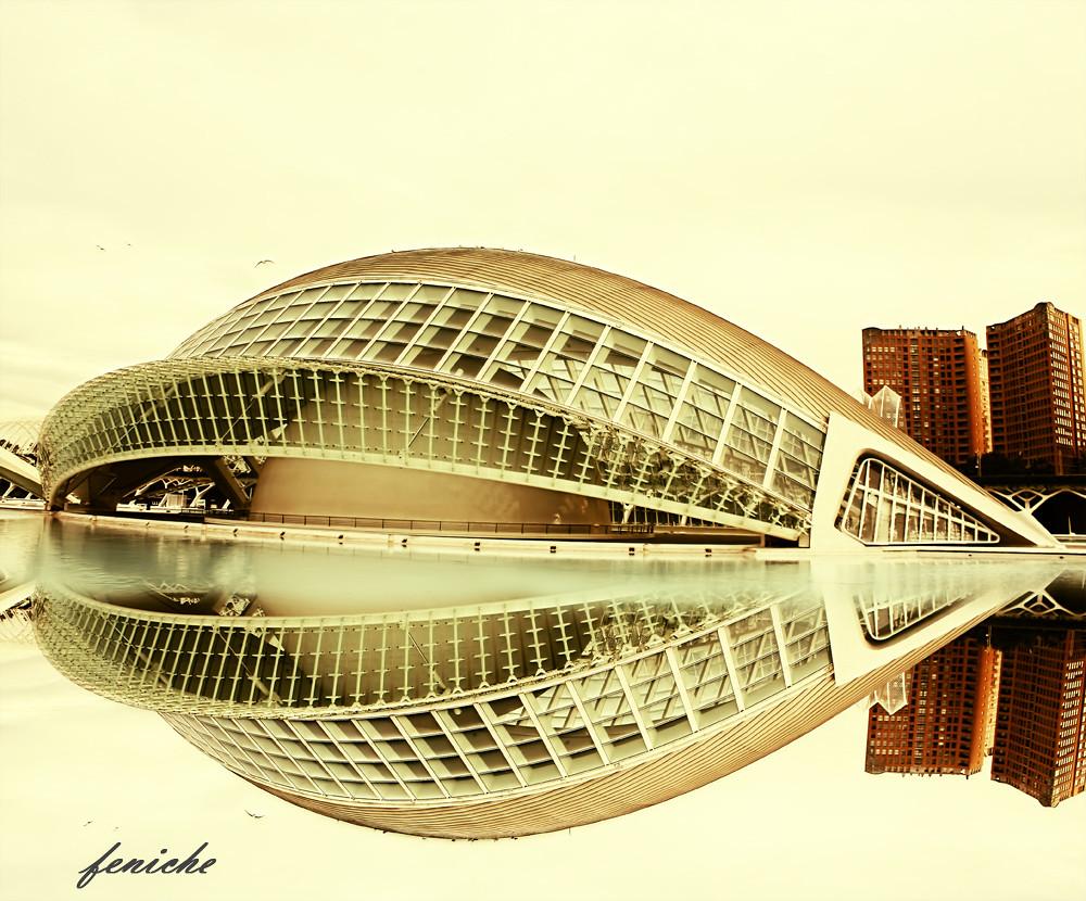 ciudad de las artes reflejos
