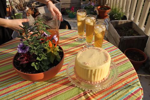 Rosewater Cake
