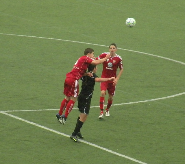 Langley Athletic FC vs. Victoria Highlanders FC Reserves | Flickr ...