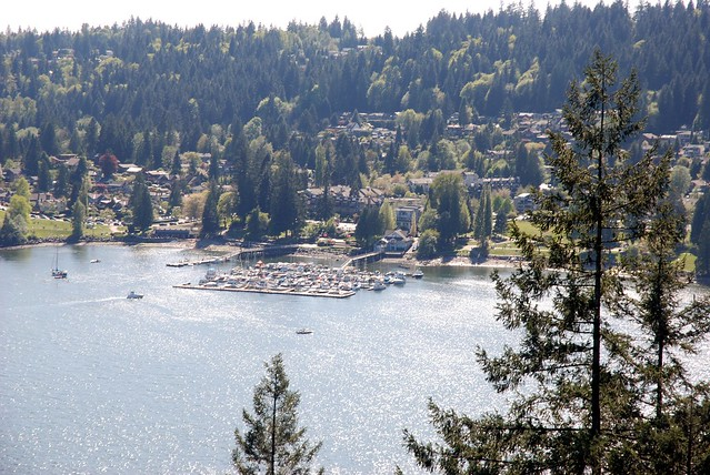 Deep Cove Marina from the Rock