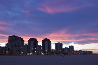 Sunset at Gandia Beach