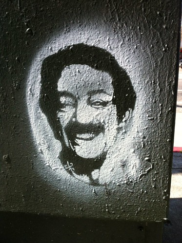 Harvey Milk stencil