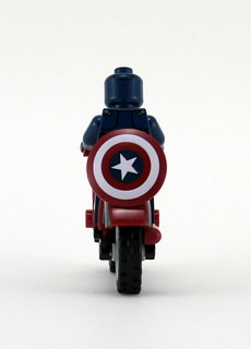 Vintage Bike - Rear Mounted Shield