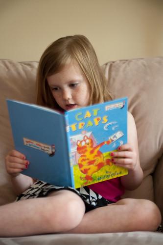003 Abby reading