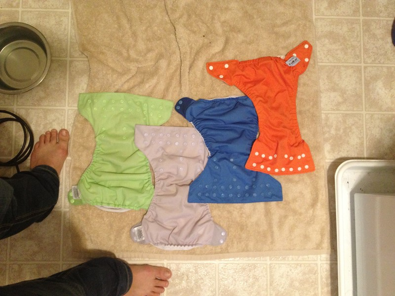 Drying diaper covers 1
