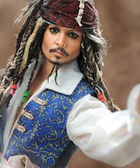 Johnny Depp as Jack Sparrow, Mattel Repaint
