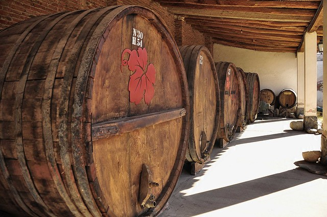 Big Wine Barrels, Cafayete, Argentina