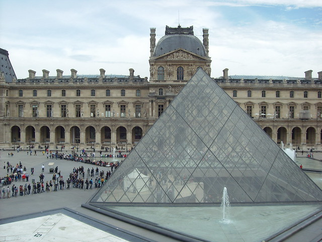 View from the Louvre