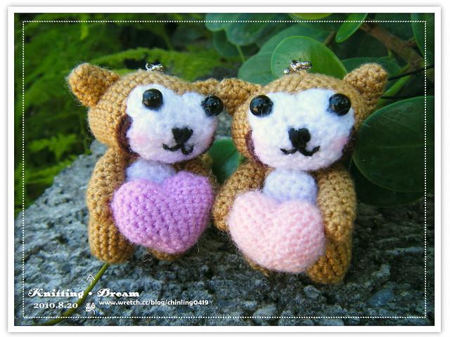 手持愛的浣熊2