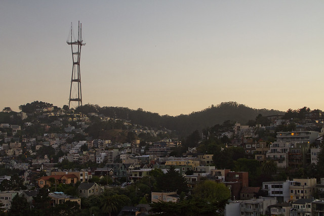 Sutro Tower POV Castro