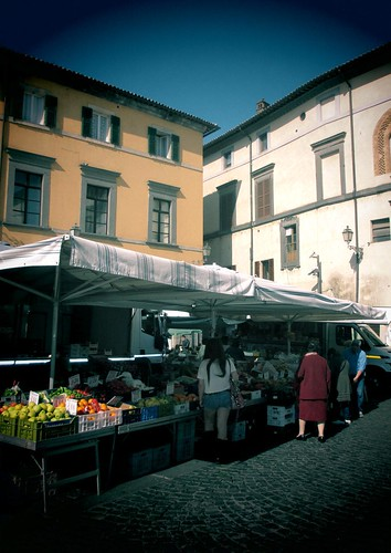 Orvieto, Italy: farmers market