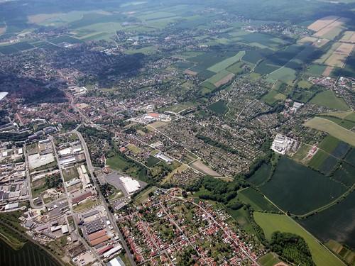 city germany deutschland thüringen aerialview mai stadt deu mühlhausen 2012 luftbild airview aerialpicture airpicture 2852012