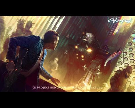 CD Projekt Announces Cyberpunk Game