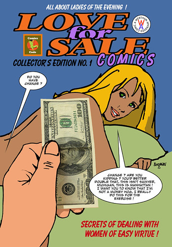 Love for Sale comics