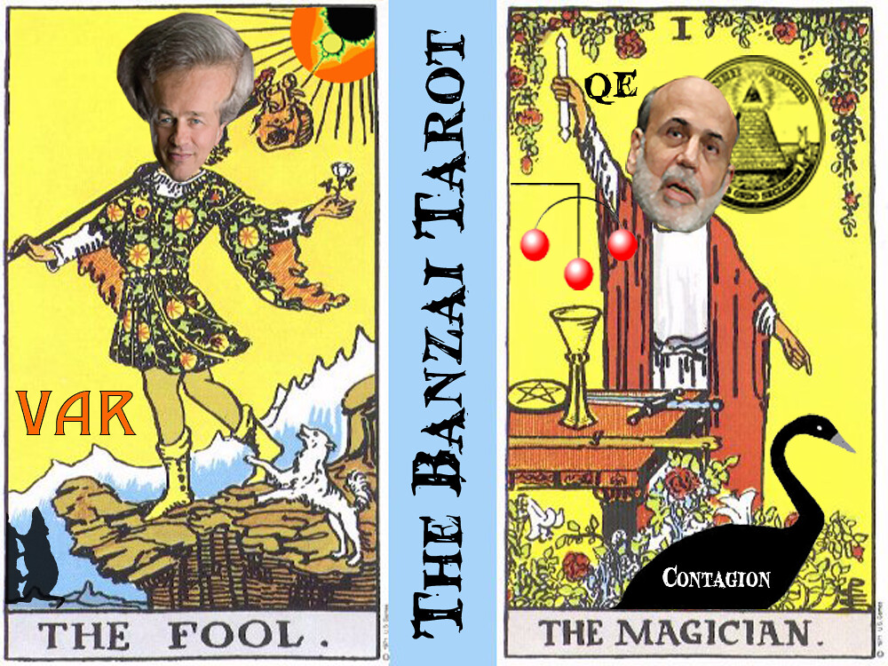 THE BANZAI TAROT (FOOL AND MAGICIAN)