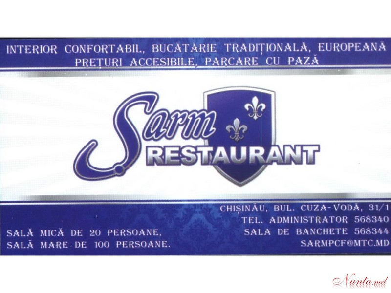 Restaurant Sarm