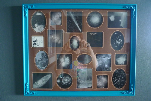 our universe: the family photo collage