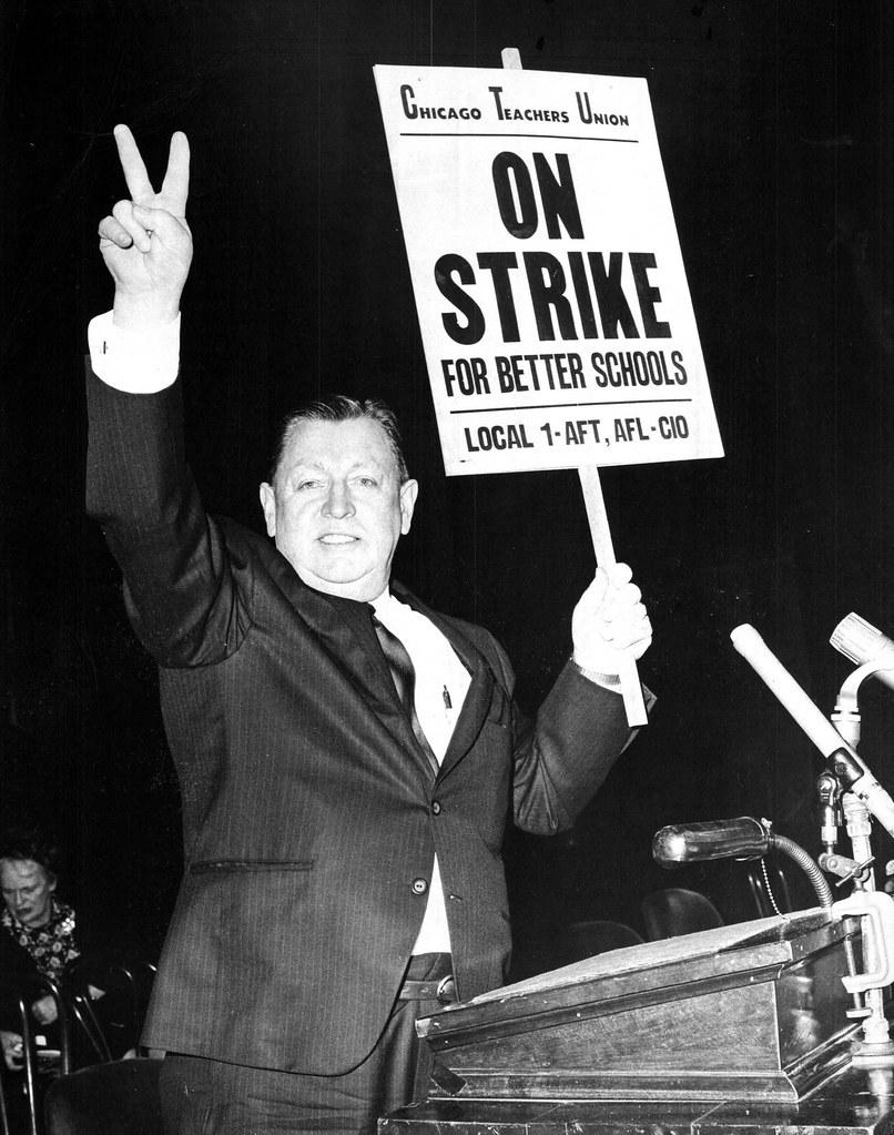 John Desmond, Chicago Teachers Union President (1967 Strike)