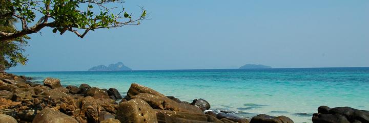 Koh Phi Phi petite ile au sud ouest de la Thailande