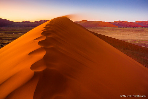 Blowing Away ~ Namibia