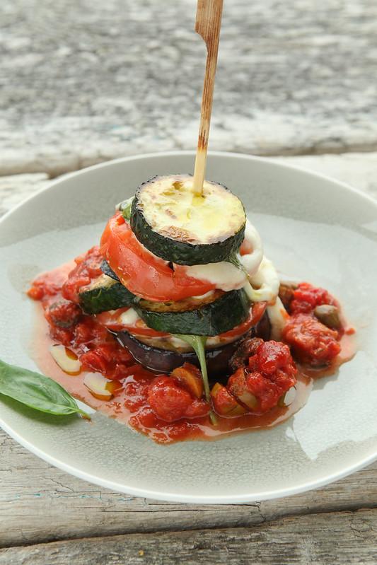 courgette aubergine lasagna