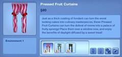 Pressed Fruit Curtains