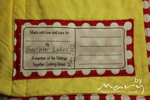 Siblings Together: Sew Cherry 1 label