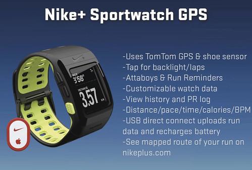 Nike+ SportWatch GPS Functionality2