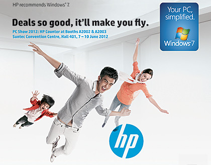 Consumer notebooks, desktops and ultrabooks, including the latest HP ENVY; as well as printers and accessories.