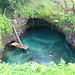 Me Swimming at To Sua Ocean Trench by Mick Byrne