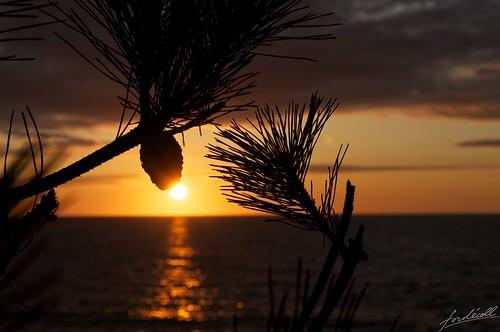 sunset sea japan niigata 2012 fujitsukabeach