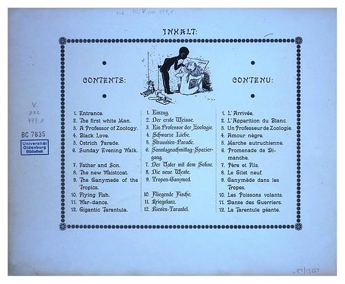 004-Indice-Afrika  Studien und Einfaelle eines Malers 1895- Hans Richard von Volkmann- Universitätsbibliotheken Oldenburg