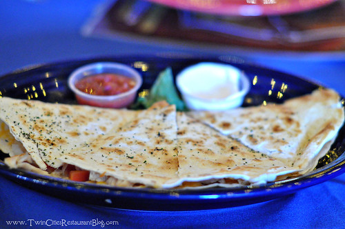 Chicken Quesadilla at Cowboy Jack's ~ St Cloud, MN