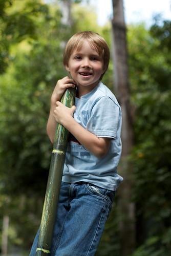 G'tums climbing plastic bamboo poles