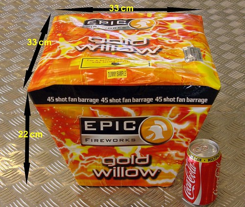 Gold Willow by Epic Fireworks