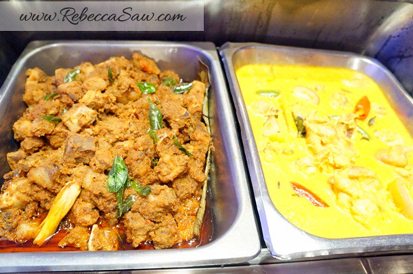 armada hotel PJ - mutton curry - buffet