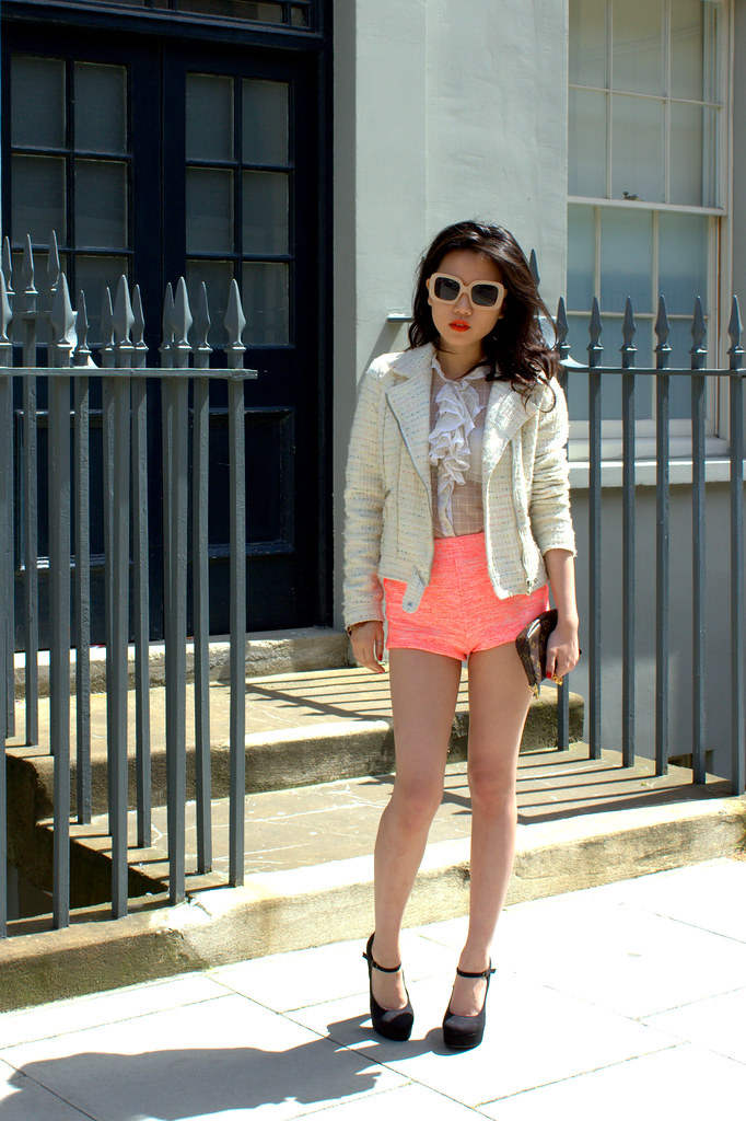 how to wear neon by Andrea Cheong The Haute Heel, luxury style blog