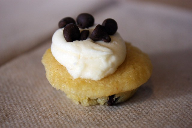 Miniature Chocolate Chip Pancake Cupcake