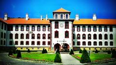 #Justnow I'm in the Elisabethenburg palace.