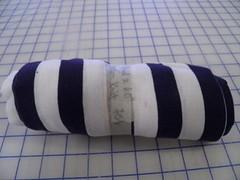 Cotton knit stripe