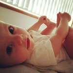 Good morning! #mybeautifulbaby #socute #feetarefun