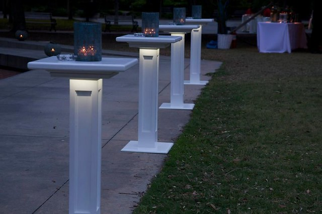 Decorative Column Tables-Lighted - Giving Pledge 2013 (2)