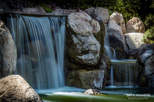 longexposure arizona water phoenix canon japanesegarden rocks az waterfalls japanesefriendshipgarden 60d canoneos60d vonwahlde