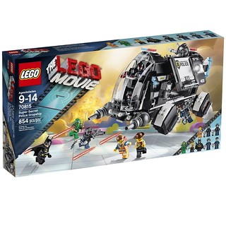70815 Super Secret Police Dropship Front