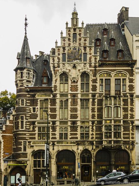 Edificio clásico en Coudenberg