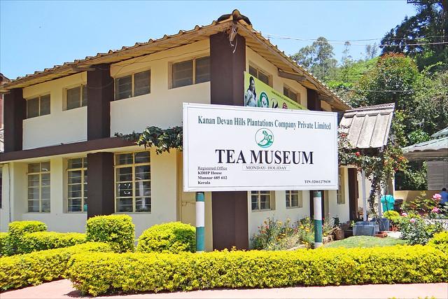 Le musée du thé (Munnar, Inde)