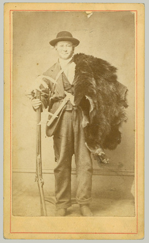 CDV man with furs
