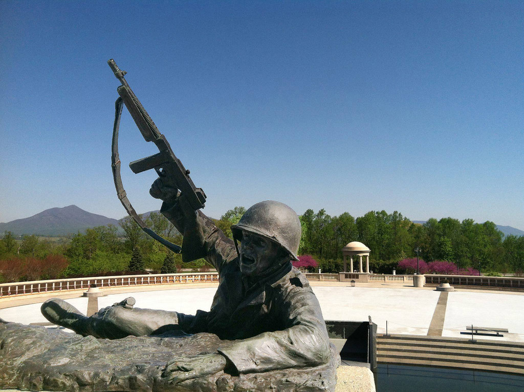 All Rights Reserved D Day Memorial Soldier